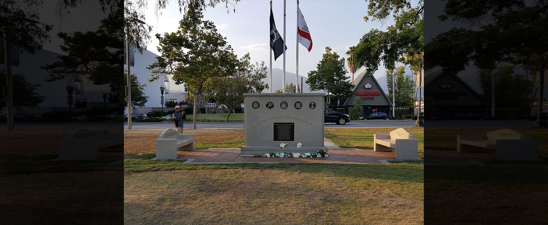 Arcadia Vietnam War Monument Names