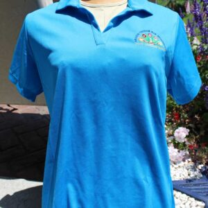 Arcadia Vietnam Monument Blue polo shirt